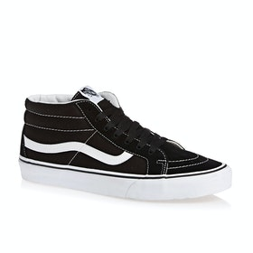 Chaussures Vans SK8 Mid Reissue - Black True White