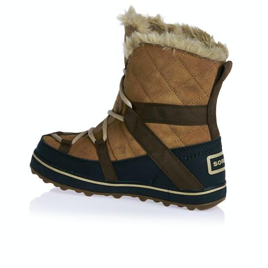 Botas de andar Mujer Sorel Glacy Explorer Shortie Faux Fur