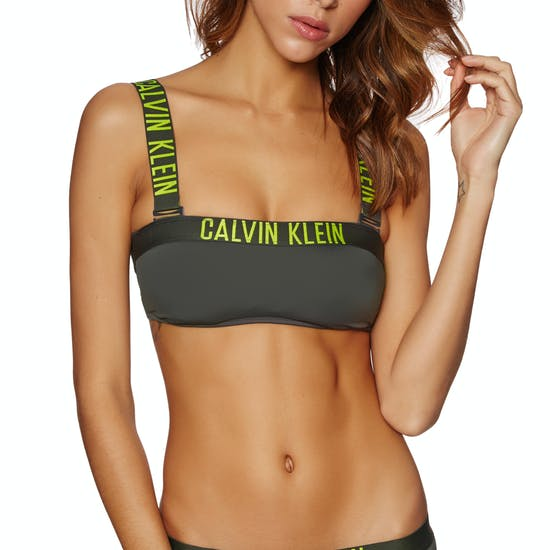 Calvin Klein Intense Power Mesh Bandeau Bikinioberteil
