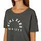 Amuse Society Cheers Sunshine Womens Short Sleeve T-Shirt