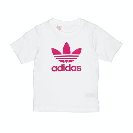 Adidas Originals Trefoil Girls Short Sleeve T-Shirt