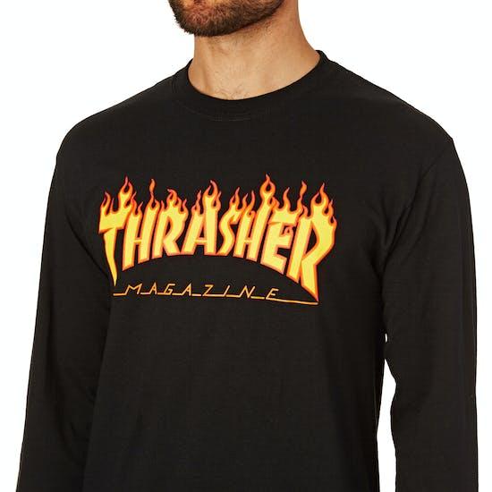 Thrasher Flame Long Sleeve T-Shirt