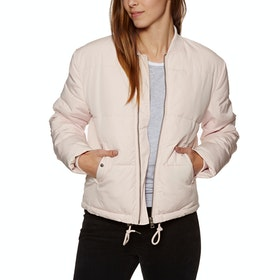 Veste Femme SWELL Highbury Light Quilted Bomber - Blush