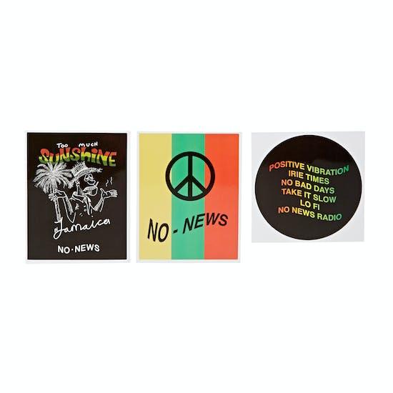 No News Pack Of Sticker