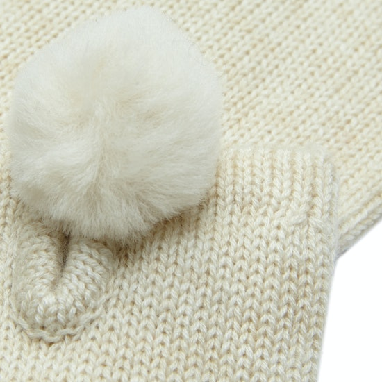 UGG Smart With Fur Poms Womens Gloves