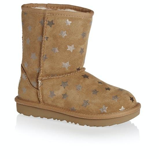 f8da4b41ac8 UGG Kids Classic Short II Stars Girls Boots available from Surfdome