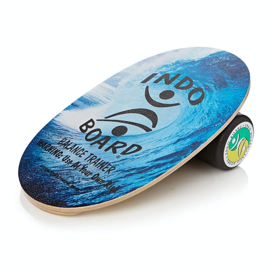 Indo Boards Original Graphics Deck And Roller Balance Board