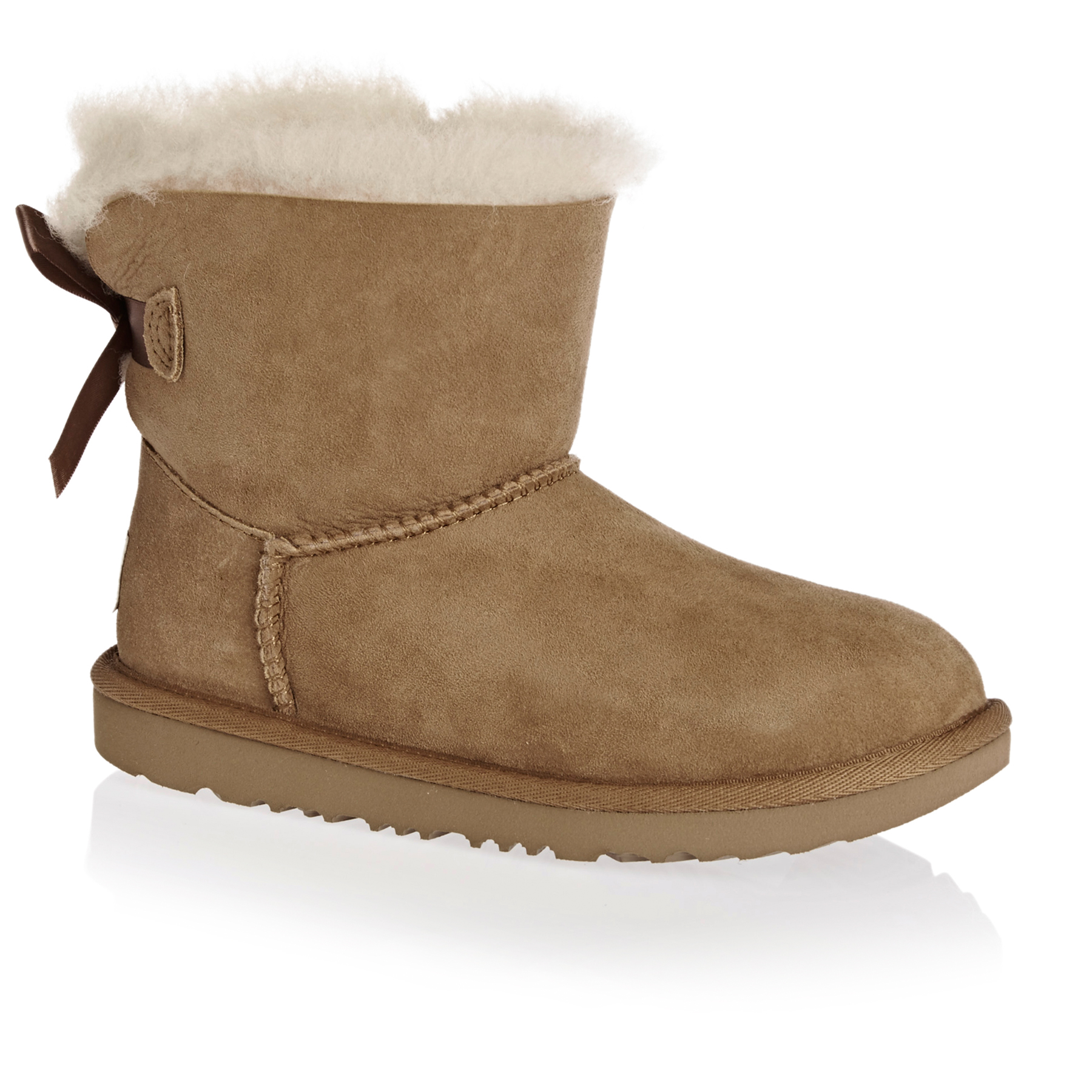 UGG Kids Mini Bailey Bow II Girls Boots Free Delivery