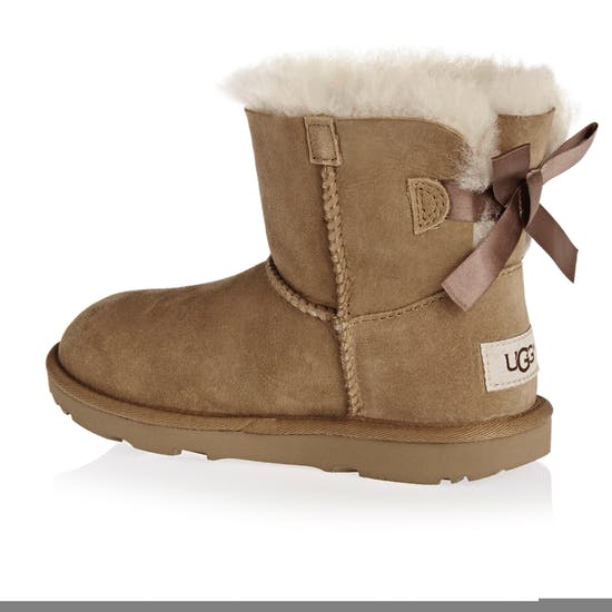 4ef44e06d0a UGG Kids Mini Bailey Bow II Girls Boots - Free Delivery options on ...