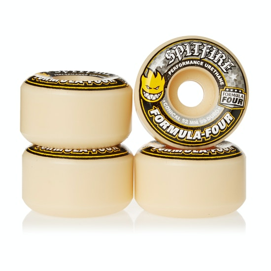 Spitfire Formula Four Wheels Conical 99DU Natural 52mm Skateboard hjul