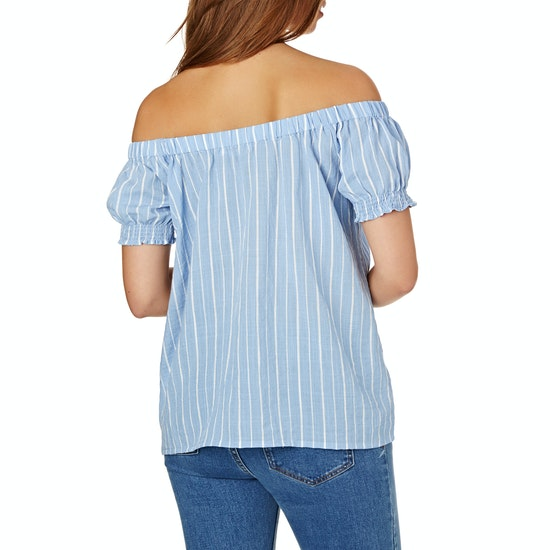 The Hidden Way Esme Shirred Womens Top