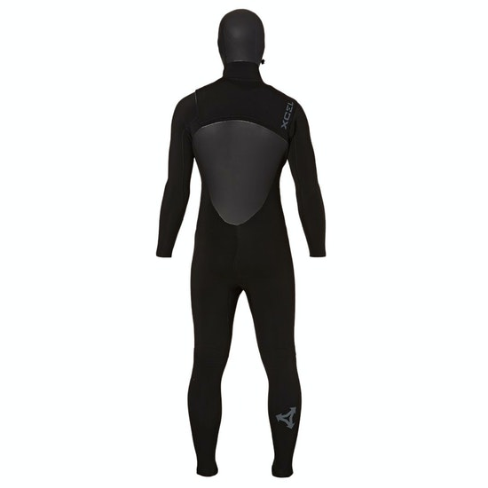 Xcel 6/5mm 2018 Drylock TDC Hooded Chest Zip Wetsuit