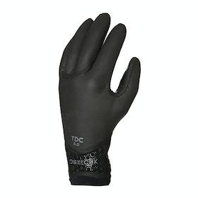 Xcel Drylock 5mm 5 Finger Wetsuit Gloves - Black