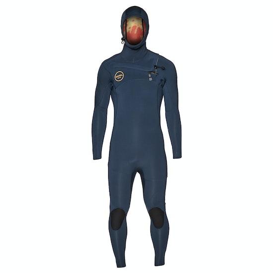 Xcel Comp X 4.5/3.5mm 2018 Chest Zip Hooded Wetsuit