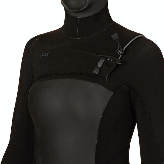 Xcel 5-4mm 2018 Infiniti Hooded X2 Chest Zip Ladies Wetsuit