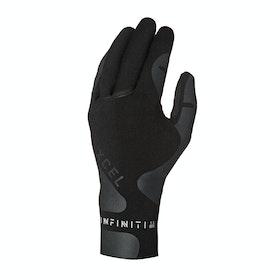 Xcel Infiniti 1.5mm 5 Finger Wetsuit Gloves - Black
