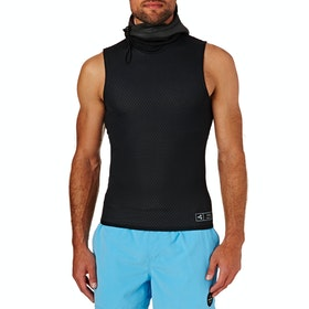 Xcel Celliant 2mm 2019 Sleeveless Drylock Hooded Thermal Rash Vest - Black