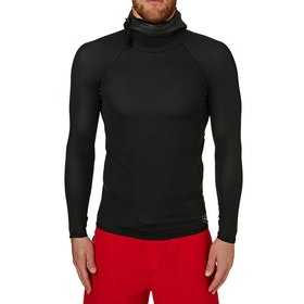 Xcel Celliant 2mm Long Sleeve Drylock Hooded Thermal Rash Vest - Black