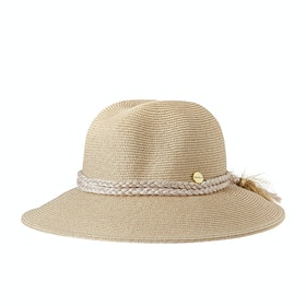 Chapeau Femme Seafolly Shady Lady Collapsible Fedora - Gold