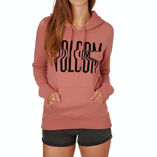 Volcom Vol Stone Womens Pullover Hoody