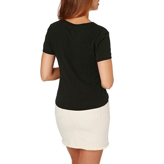 Volcom Dont Even Trip Ladies Short Sleeve T-Shirt