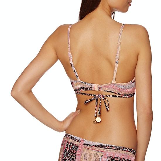 Seafolly Moroccan Moon Wrap Front Booster Bikini Top