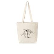 SWELL Palm Canvas Ladies Beach Bag
