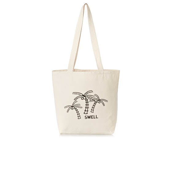 Bolso de playa Mujer SWELL Palm Canvas