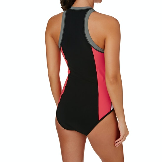 Seafolly Resist Me Zip Front Womens Swimsuit