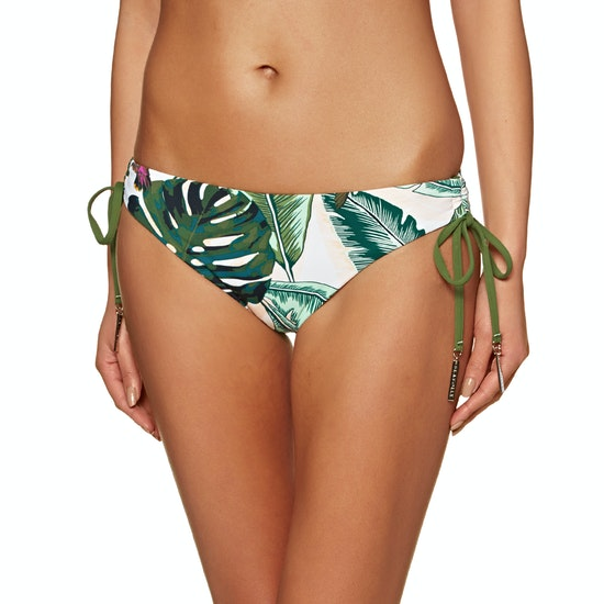 Seafolly Palm Beach Loop Tie Side Hipster Bikini Bottoms