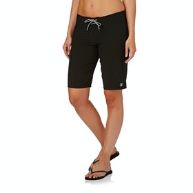Volcom Simply Solid 11 Womens Boardshorts - Black