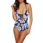 Seafolly Deep V Maillot Ladies Swimsuit