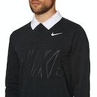 Nike SB Dry Blend Long Sleeve Polo Shirt