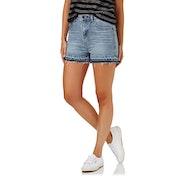 The Hidden Way Queenie High Waist Womens Shorts