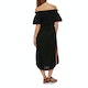 Seafolly Sahara Nights Off Shoulder Embroidered Dress