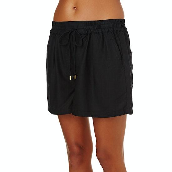 Seafolly Palm Beach Linen Blend Womens Shorts