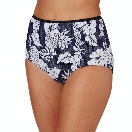 Seafolly High Waisted Pant Bikini Bottoms