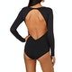 Volcom Simply Seam Bodysuit Womens Swimsuit