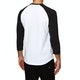 DC Rebuilt 2 Raglan Long Sleeve T-Shirt