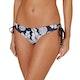 Seafolly Brazilian Loop Tie Side Bikini Bottoms