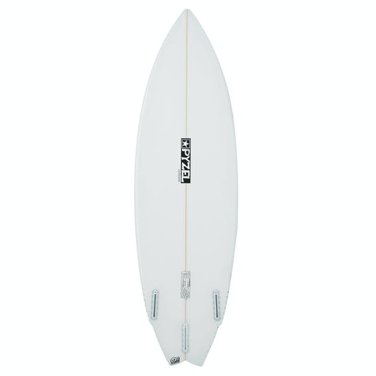 Surfboard Pyzel Happy Twin Futures 3 Fin