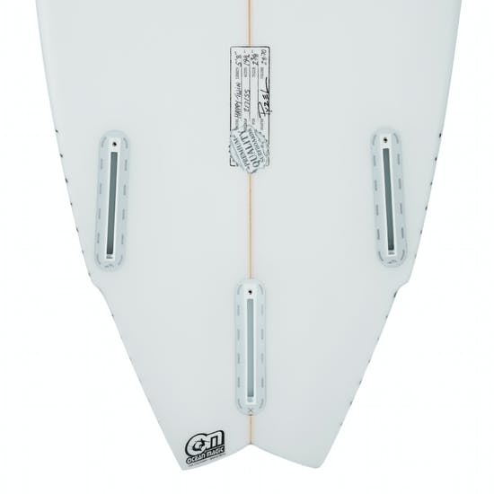 Pyzel Happy Twin Futures 3 Fin Surfboard