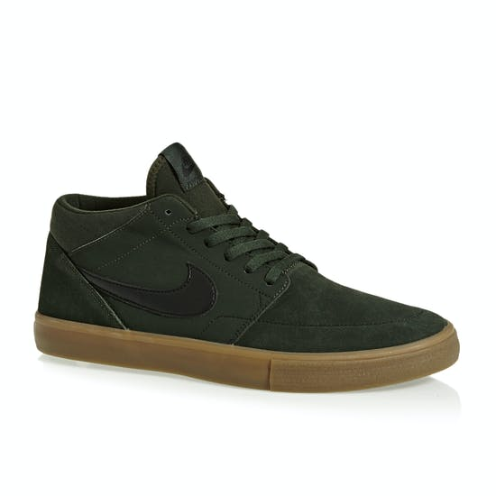 Nike SB Solarsoft Portmore II Mid Shoes