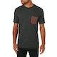 Volcom Pocket Heather Short Sleeve T-Shirt