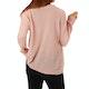 The Hidden Way Bluma Textured Womens Sweater