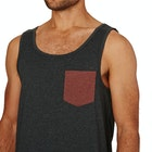 Volcom Pocket Heather Tank Vest