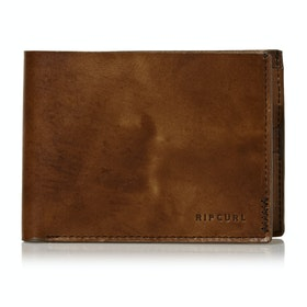 Rip Curl Handcrafted All Day Wallet - Brown