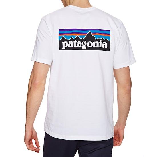 b747b3083 Patagonia P-6 Logo Responsibilitee Short Sleeve T-Shirt - Free ...