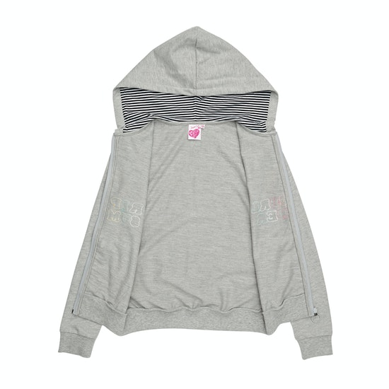 Rip Curl Rainbow Fleece Girls Zip Hoody