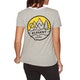 T-Shirt à Manche Courte Femme Element Camp Ringer